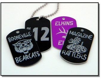 Lasered Dog Tags