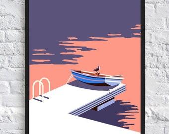 Instant Download | Sunset Pier