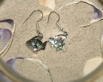 Under the Sea Fish Earrings