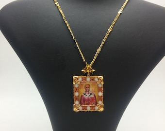 St. Nicholas Gold Plated