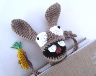 Amigurumi Crochet Bunny Bookmark