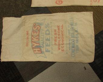 Vintage Hykes Feed Sack