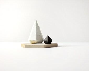 Concrete Cone Diamond Trio