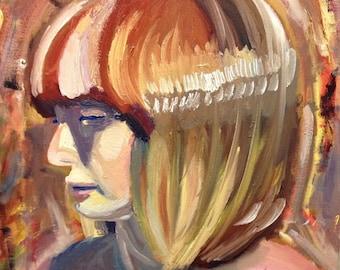 Lady in Light Original Art