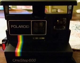 Polaroid Rainbow One Step 600