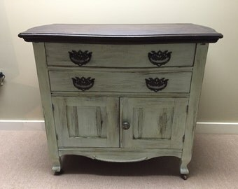 SOLD example- Restored Antique Commode