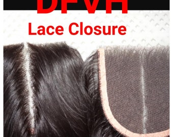 DFVH Lace Closure 14""