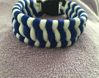 Blue jays bracelet