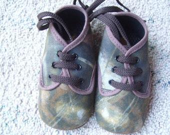 Camouflage soft shoe