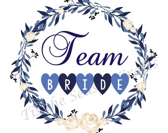 "Shop ""team bride"" in Invitations & Paper"