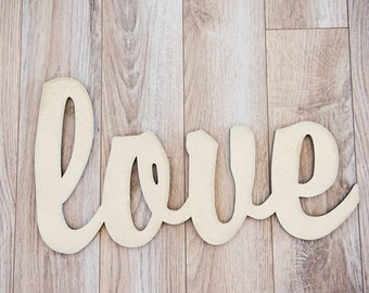 Love Sign - Wedding Photos, Engagement Photos, Home Decor