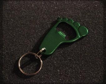 Combat Rescue Green Feet Bottle Opener Key Chain