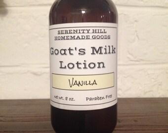 Creamy Goat's Milk Lotion - *Paraben Free*
