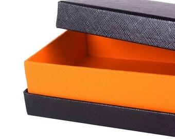 Gift boxes Wallet box Belt boxes, kraft paper belt boxes 5pcs  21*12.5*4.5cm