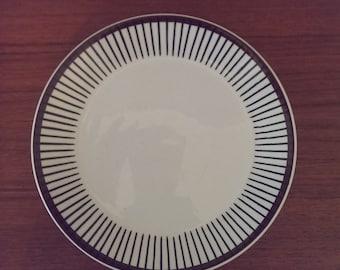 Plate Spisa Ribb of Stig Lindberg, Scandinavian