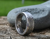50% Silver Pre 1946 British Florin/Two Shillings Coin Ring