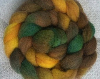 Early Autumn...Hand-dyed Cheviot Wool