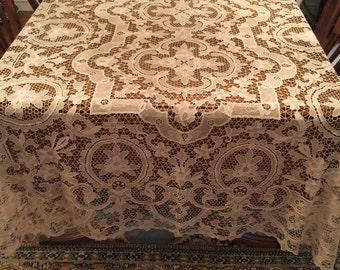 Italian Lace Table Cloth