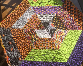 Halloween quilted table toppers