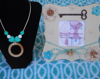 Mommy's Muse Brand Silicone Teething Jewelry