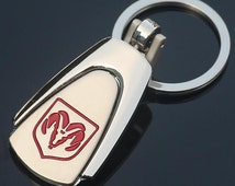 Dodge Keychain Keyring - Provided with gift box. Car Keyring, Car Keychain, Charger, Challenger, Dart, Viper, Journey, Durango,