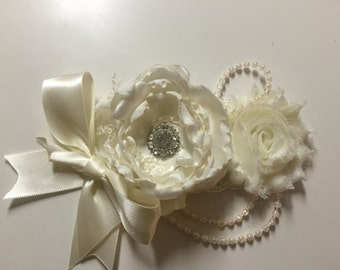 Shabby chic bow
