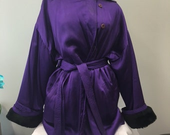 Vintage Gianni Versace Purple Mac