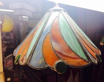 Lamp Tiffany Art Deco cabochons