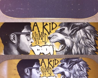 Kid cudi skateboard
