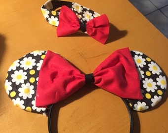 Mommy and Minnie Mommy ears