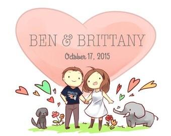 Develop wedding website