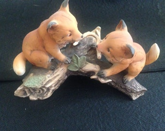 Baby Fox and Friend - Master Piece Collection Home Interiors