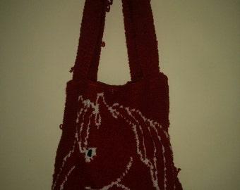 Handbag horse head