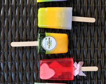 Lollipop Soap - Handmade Soap, Fancy Soap, Handcrafted Soap, Natural Soap