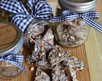 English Toffee (16 oz) - Mason Jar Gift