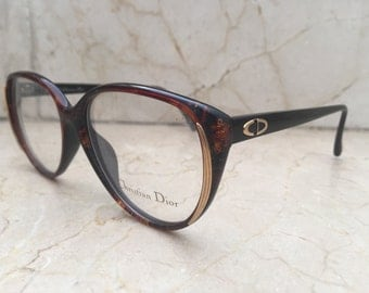 Christian Dior 2455 1980s Glasses