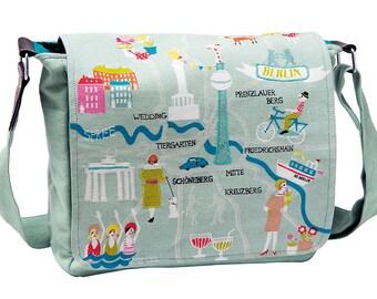 "Canvas shoulder bag ""Berlin Berlin"""