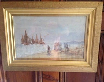 A pair of watercolours by HB Davies