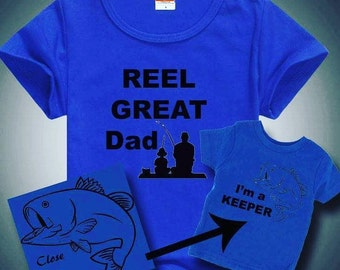 Father and Son Fishing Shirt