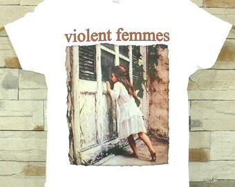 Violent Femmes white shirt