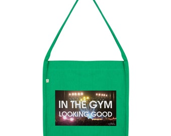 In The Gym Looking Good Tote Bag