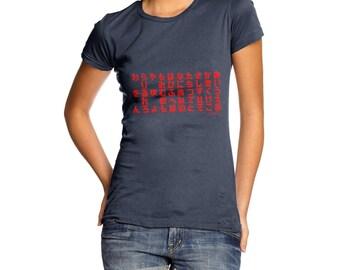 Women's Hiragana Table T-Shirt