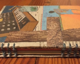 Journal/Notebook, Paper Collage Small Edition