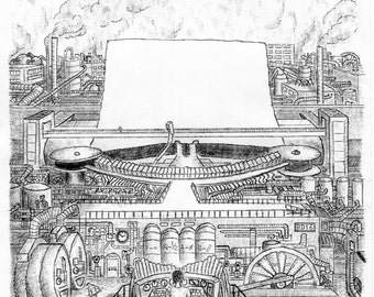The Giant Steam-Driven Typewriter