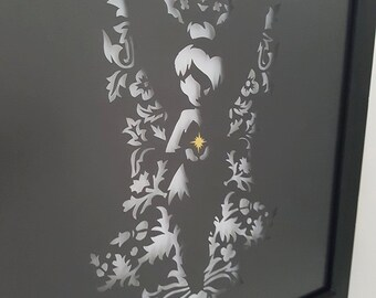 Unique Tinkerbell Papercut