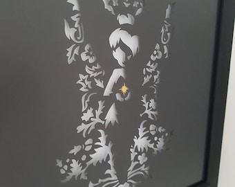 Unique Tinkerbell Papercut
