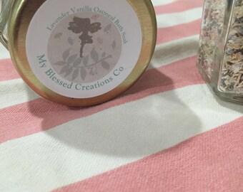 Lavender vanilla oatmeal bath #329