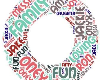 Letter Word Cloud