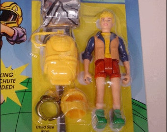 Linka Planeteer from Captain Planet Vintage 1991 Action Figure Tiger Toys MOC