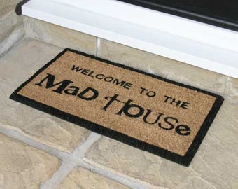 Entrance Door Mat (Mad House) - 33.5cm x 60cm